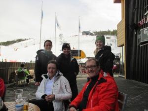 Armi and Matti - our ski guides